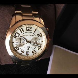 Michael Kors Goldtone Unisex Watch